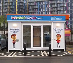Sell your car at WeWantAnyCar Wembley branch