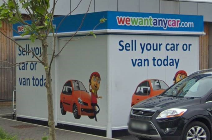 Sell your car at WeWantAnyCar Cardiff branch