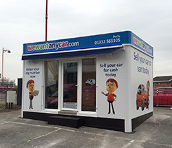 Sell your car at WeWantAnyCar Derby branch