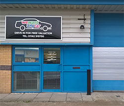 Sell your car at WeWantAnyCar Sheffield/Rotherham branch