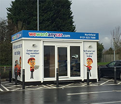 Sell your car at WeWantAnyCar Birmingham Northfield branch