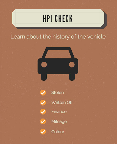 HPI vehicle history checks