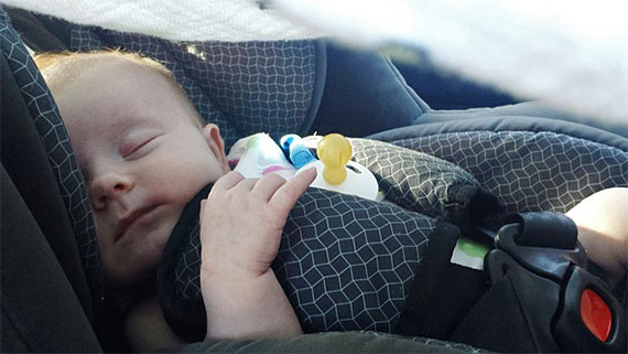 Baby proofing your car