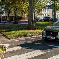 The sound of the Jaguar I-PACE protects road users