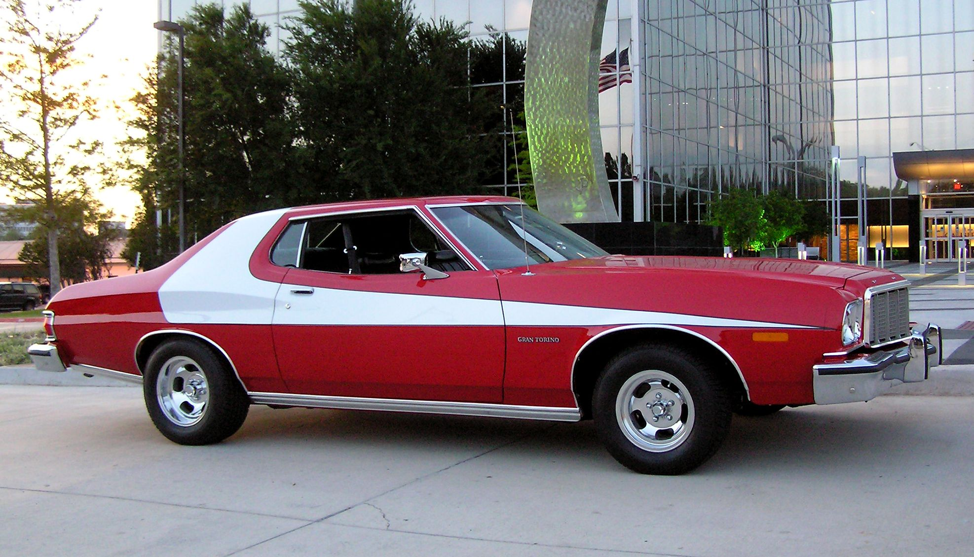 Iconic cars Ford Gran Torino Starsky and Hutch