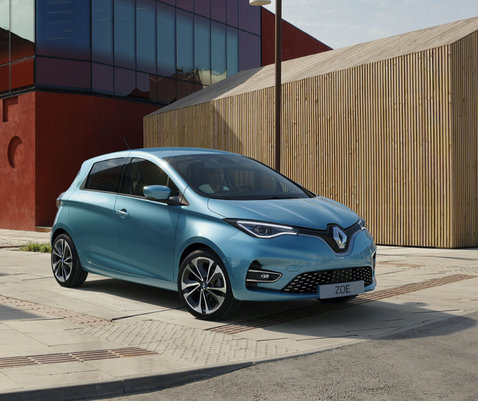 Renault Zoe Affordable electric cars